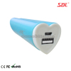 2600mAh Portable Power Bank Power Supply External Battery Pack USB Charger