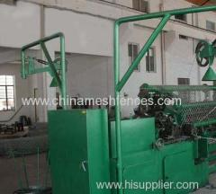 Two Wires Entry Chain Circlone Mesh Making Machine