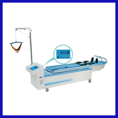 high quality cervical & lumbar traction bed