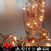 20L acrylic beads garland warm white LED string light