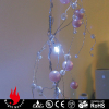 20L pink pearl garland Cold white LED string lights
