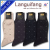 Business Men Casual Cotton Socks Black And White business Sock
