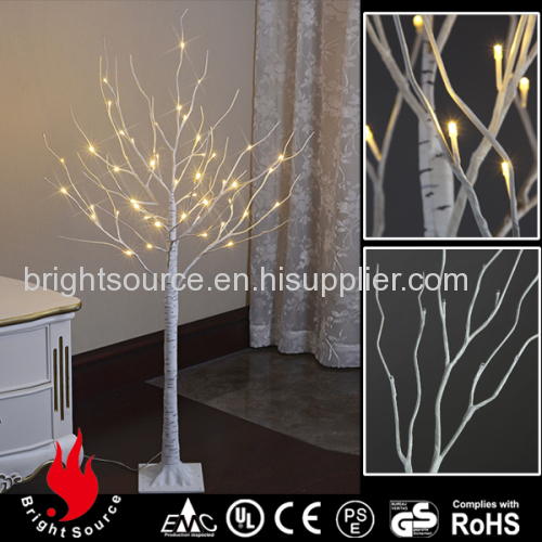 120cm high white christmas tree