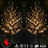 Warm White Lights Cherry Christmas Trees Artificial