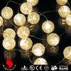mini light with ball decorate string lights suitable for christmas wedding patio party holiday decoration