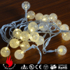 20L acrylic bubble ball warm white LED string decorative lights