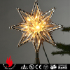 lighted tree topper for Christmas tree decoration