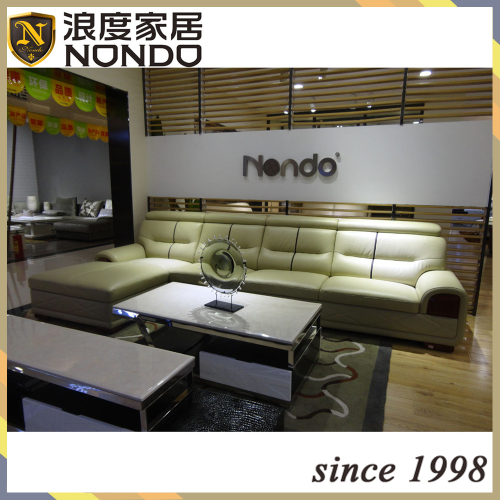 Luxury new design living room sofa modren leather sofa