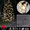 Clear Blossom Flowers Christmas Light Tree