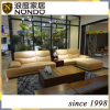 Luxury Modern Sectional Leather Sofa Multi-Functional With Coffee Table Sofa