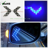 3528 SMD 14 LED Car Arrow Panel Light Auto Side Mirror Turn Signal Indicator Light Lamp Blue