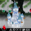 3D lighting snowman family