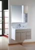80CM PVC bathroom cabinet wall hung cabinet vanity for sale