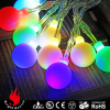 fairy light balls 20 multi color led 2.2cm frosted ball