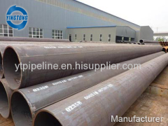 Manufacturer Welding Steel Pipe Black Welded Steel Pipe