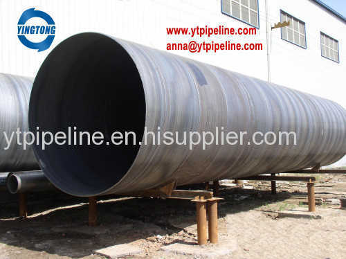 Spiral welded steel pipe carbon steel pipe manufacter