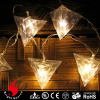 10L triangle cheap christmas lights for indoor decoration