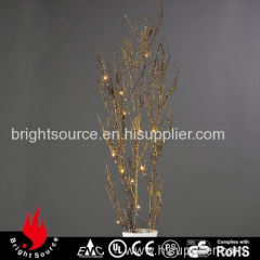 Brown Natura Bamboo Lighting Branch