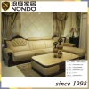 European antique style living room set leather sofa