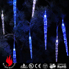 20L acrylic icicle curtain light blue and white LED string decorative lights