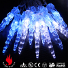 20 leds blue christmas lights battery operated