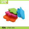 Colorful silicone rubber coin purse