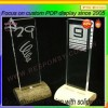 Hot sale countertop clear acrylic display sign display case