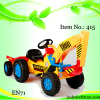 Kid Car Pedal Excavator with Trailer 415