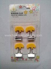 creative bear shape binder clip