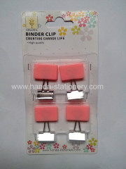 creative square shape binder clip