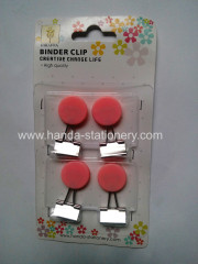 creative circle shape binder clip