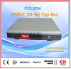 digital set top box dvb-c for cable tv
