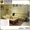 European classic style living room set leather sofa