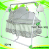 new RC baby swing bed baby rocker chair baby cradle bed with mosquito net