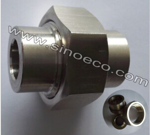 Stainless Steel High Pressure Hard Butt Welded Union Without Gasket Pipe Fitting