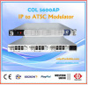 IP mux atsc rf modulator 8 frequency