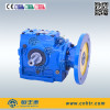 HSAF Series Helical Worm Hollow Shaft Gearbox with Motor