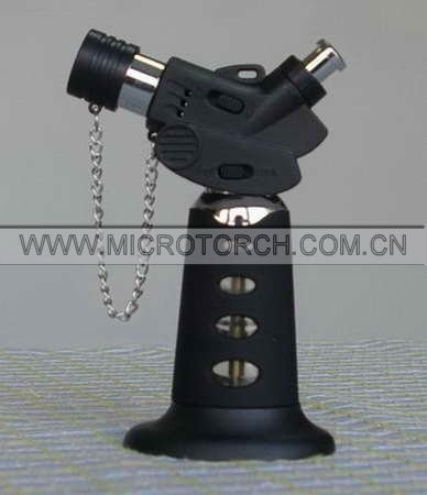 quality guarantee hand-held refillable soldering torch with safety lock