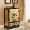 Storage cabinet Wooden Living Room Cabinet locking wood storage cabinets