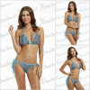 Printed Leopard Sexy Swimwear For Mature Women