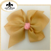 6 inch big hair bows for girl's hair decoration