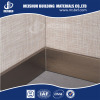 Aluminum skirting baseboard for wall base