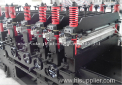 Automatic High Speed Three Side Seal Stand Up Pouch With Zipper Seal Bag Making Machine