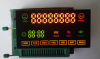 8 digits seven segment led display for water heater 7 segment led display