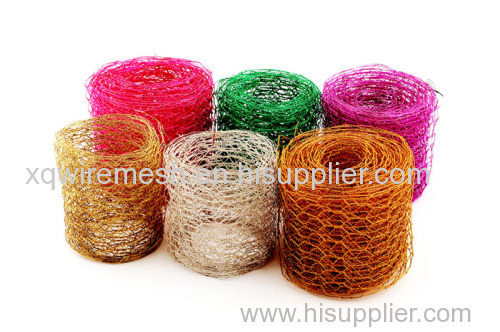 Colorful Hexagonal Wire Mesh