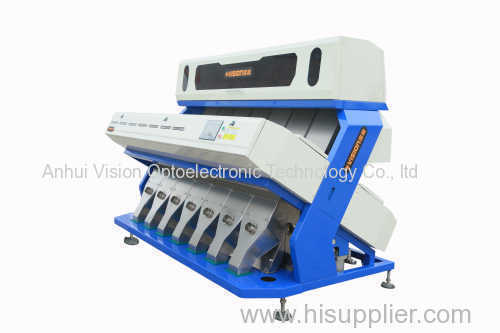 Corn CCD color sorter for food processing machinery