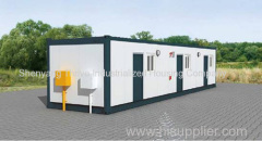 Prefab steel structure container house