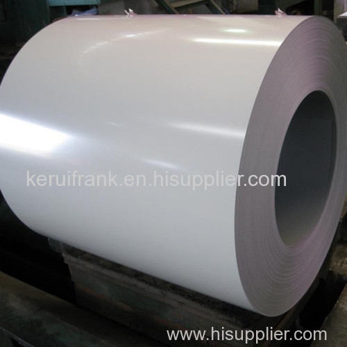 WHITE GALVANIZED STEEL COILS