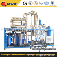 thermal oil heater used oil recycling purification machine