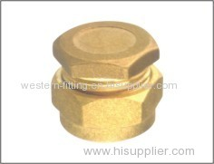 Brass Compression Hexagon Fitting